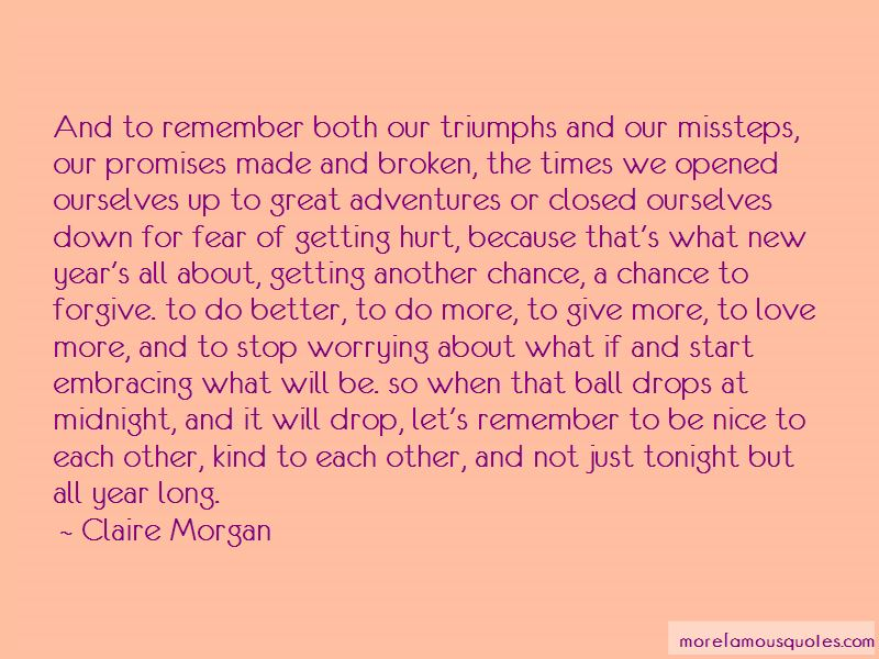 Claire Morgan Quotes Pictures 2