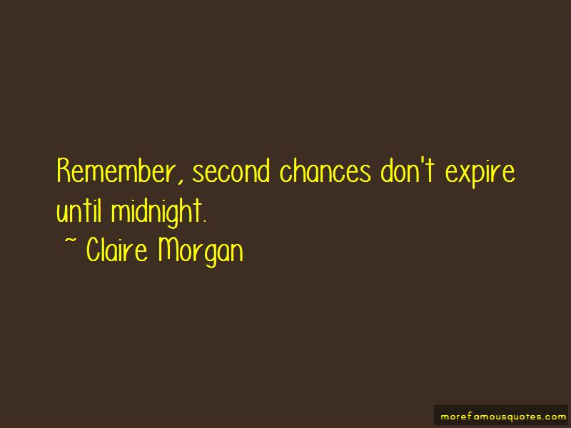 Claire Morgan Quotes Pictures 3