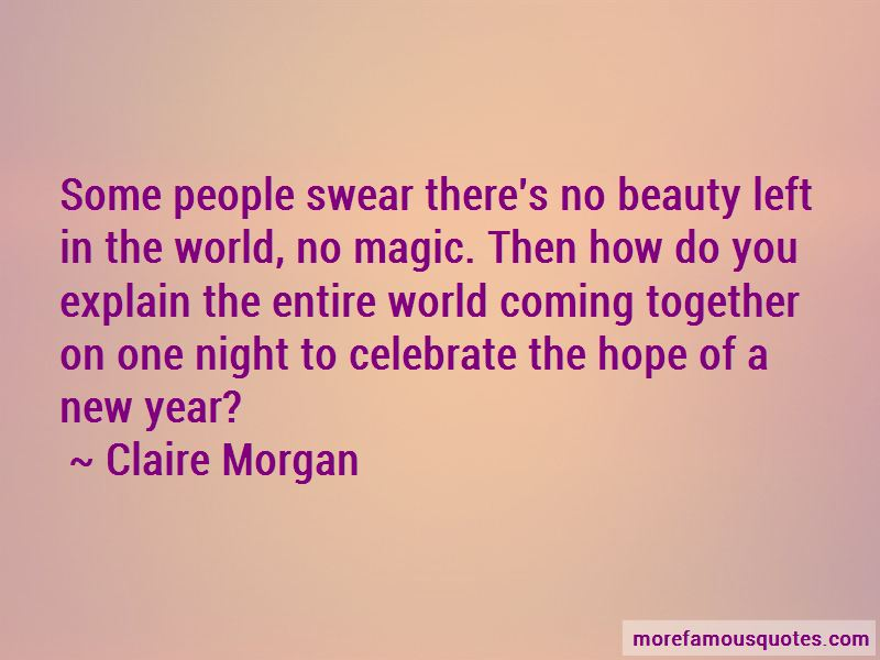 Claire Morgan Quotes Pictures 4