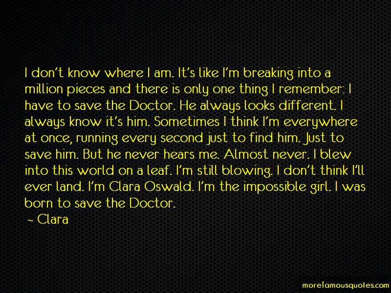 Clara Quotes Pictures 4