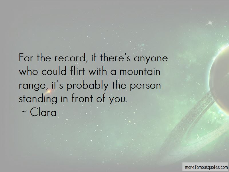 Clara Quotes