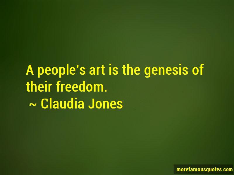 Claudia Jones Quotes Pictures 3