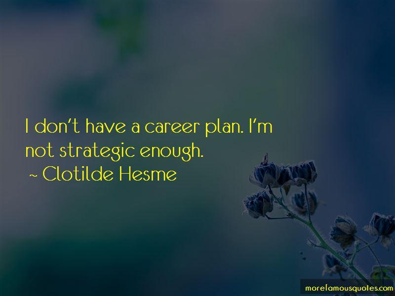 Clotilde Hesme Quotes Pictures 2