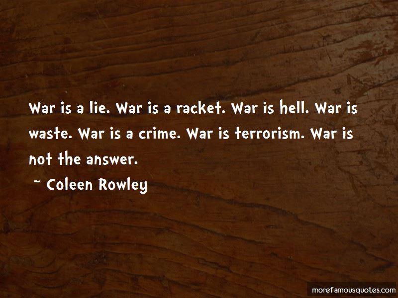 Coleen Rowley Quotes