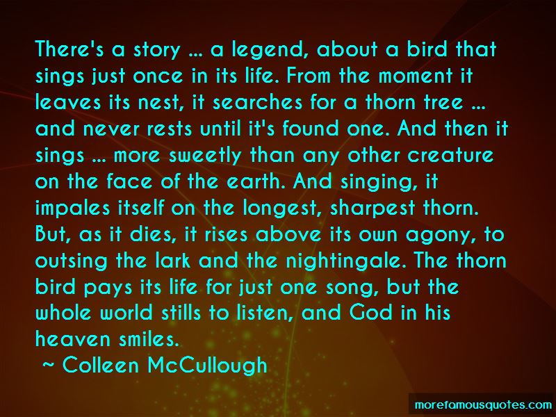 Colleen McCullough Quotes Pictures 2