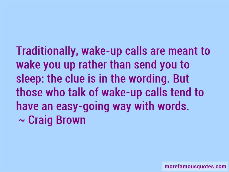 Craig Brown Quotes Pictures 3