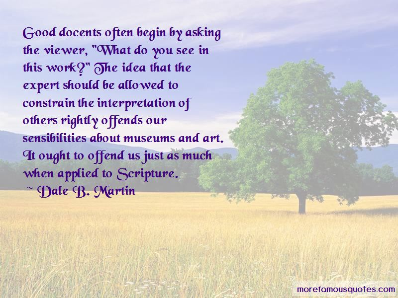 Dale B. Martin Quotes