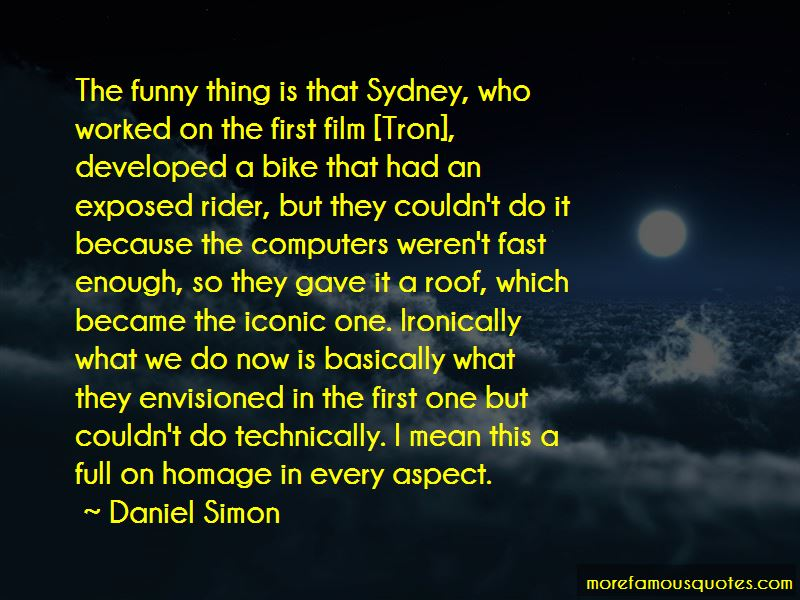 Daniel Simon Quotes
