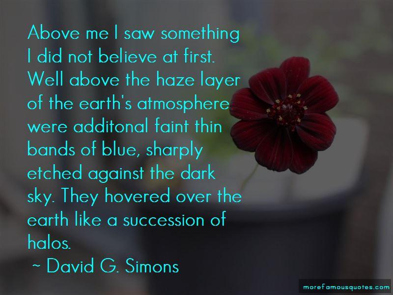David G. Simons Quotes