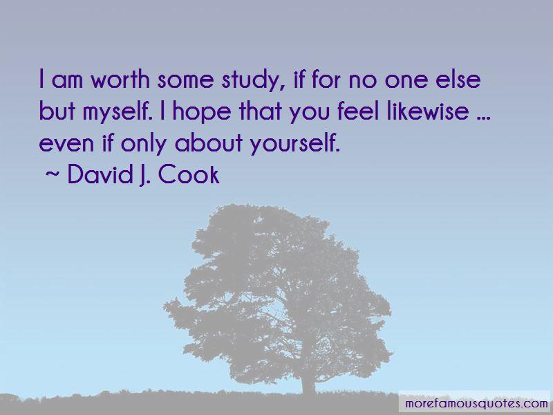 David J. Cook Quotes