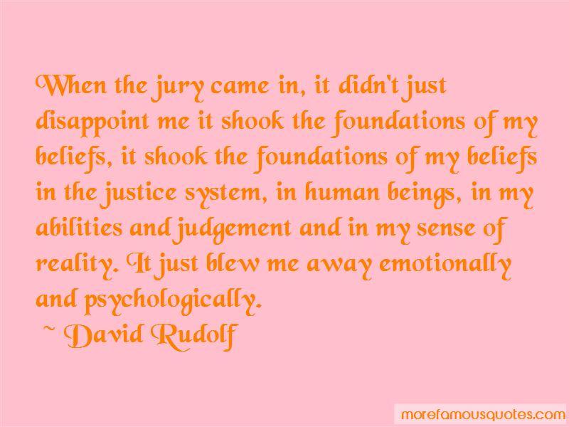 David Rudolf Quotes