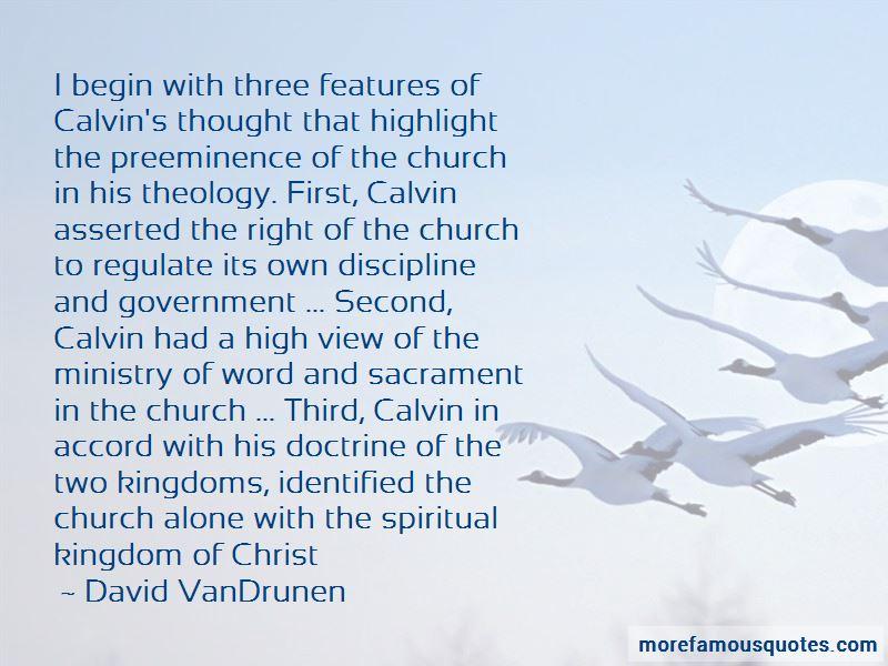 David VanDrunen Quotes