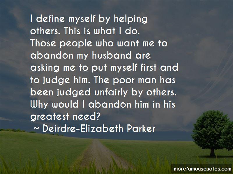 Deirdre-Elizabeth Parker Quotes