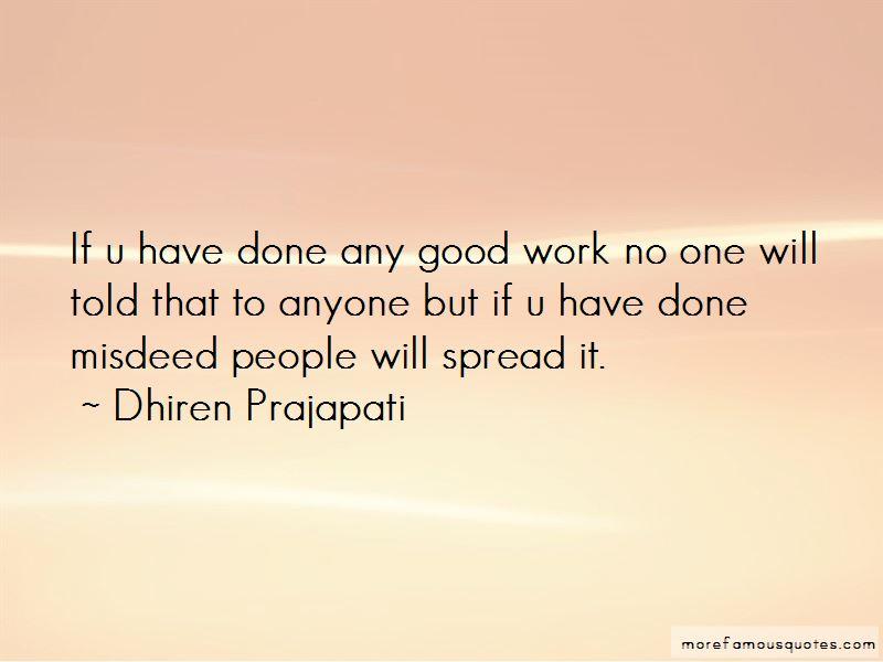 Dhiren Prajapati Quotes