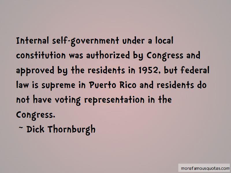 Dick Thornburgh Quotes