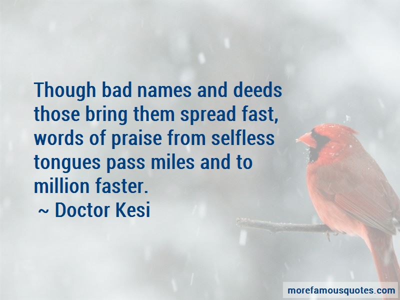 Doctor Kesi Quotes Pictures 4