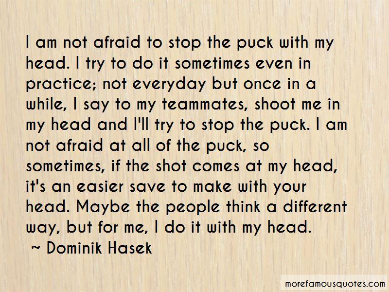 Dominik Hasek Quotes Pictures 2