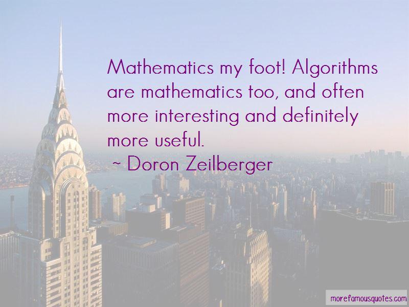 Doron Zeilberger Quotes Pictures 4