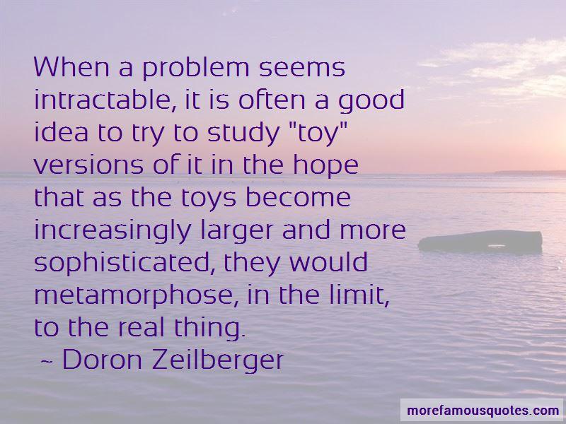 Doron Zeilberger Quotes