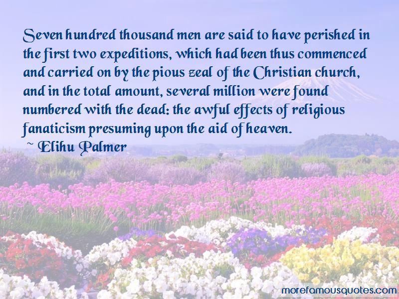 Elihu Palmer Quotes
