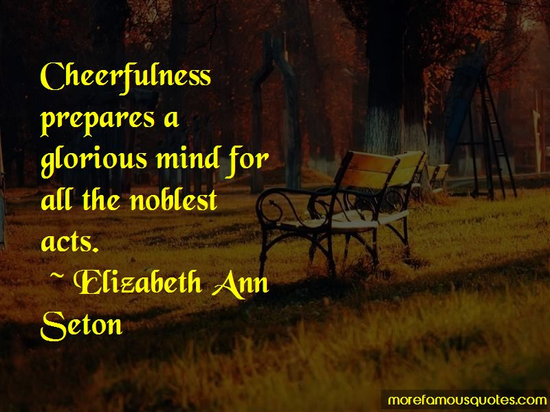 Elizabeth Ann Seton Quotes