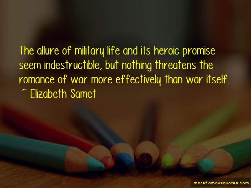 Elizabeth Samet Quotes