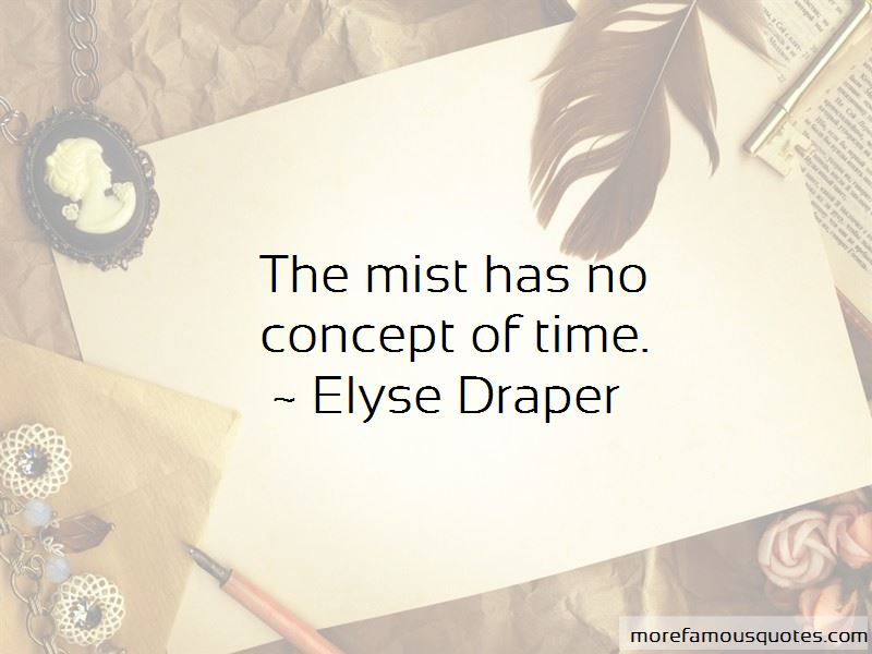 Elyse Draper Quotes