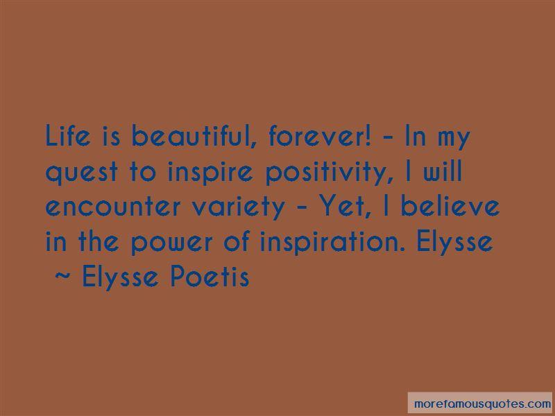 Elysse Poetis Quotes Pictures 2