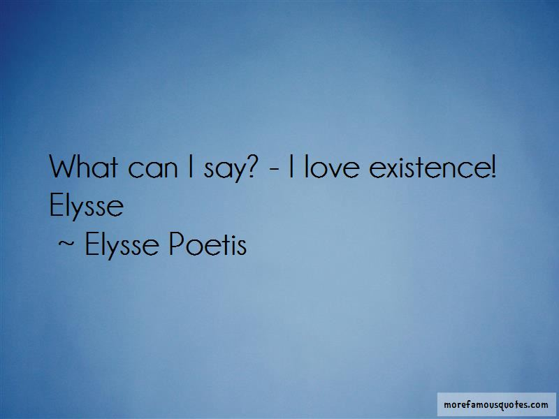 Elysse Poetis Quotes Pictures 3