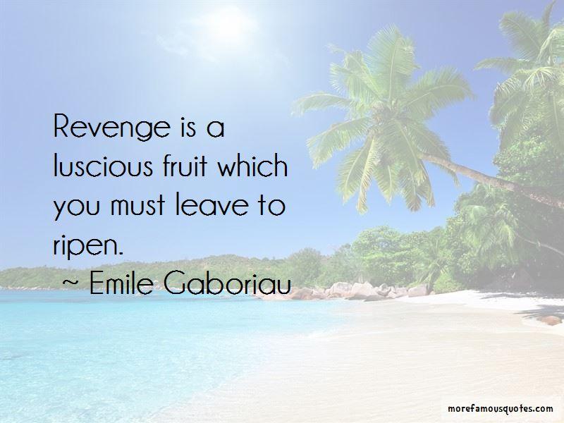 Emile Gaboriau Quotes Pictures 4