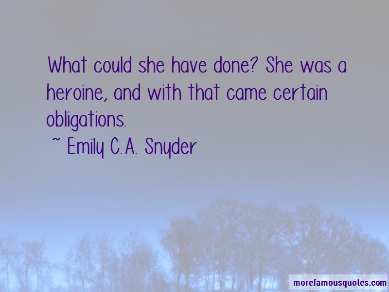 Emily C.A. Snyder Quotes Pictures 2