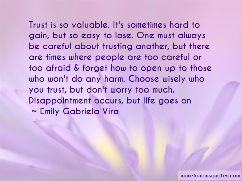 Emily Gabriela Vira Quotes