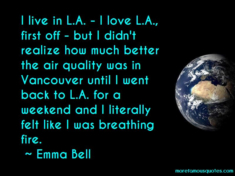Emma Bell Quotes