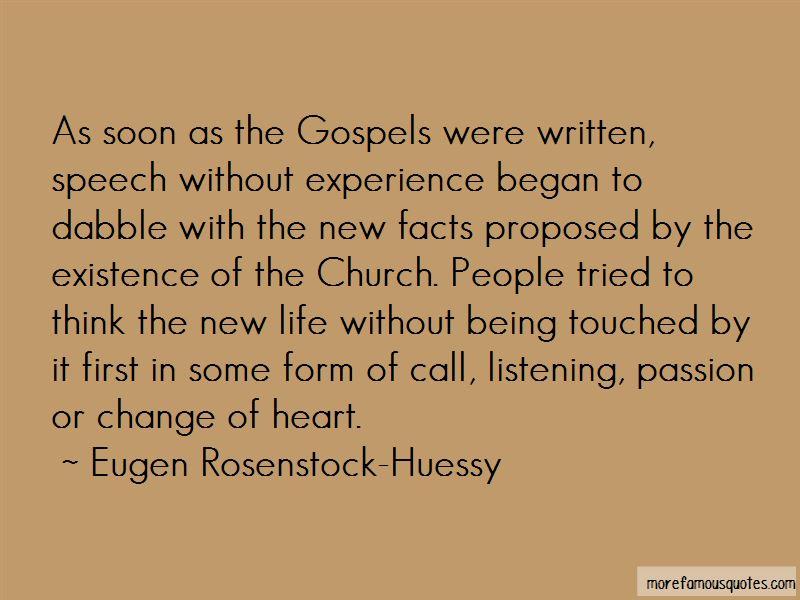 Eugen Rosenstock-Huessy Quotes
