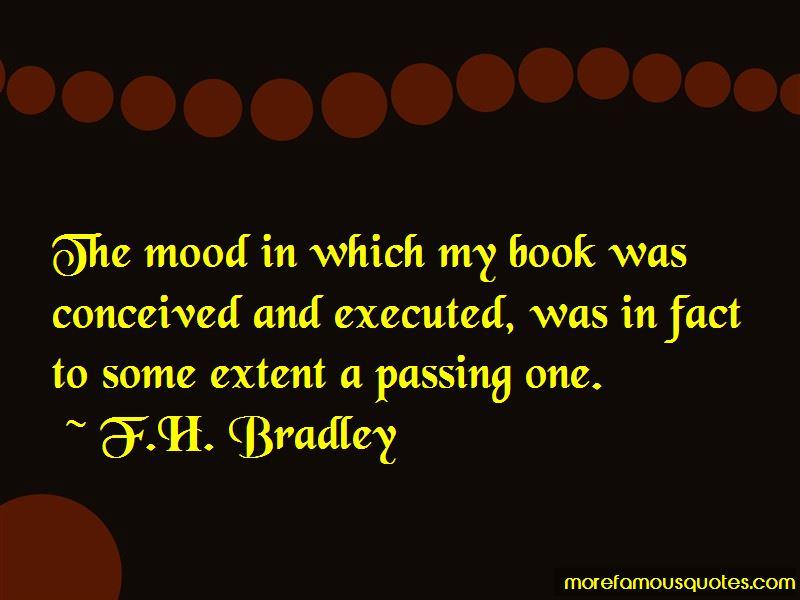 F.H. Bradley Quotes
