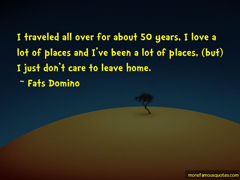 Fats Domino Quotes