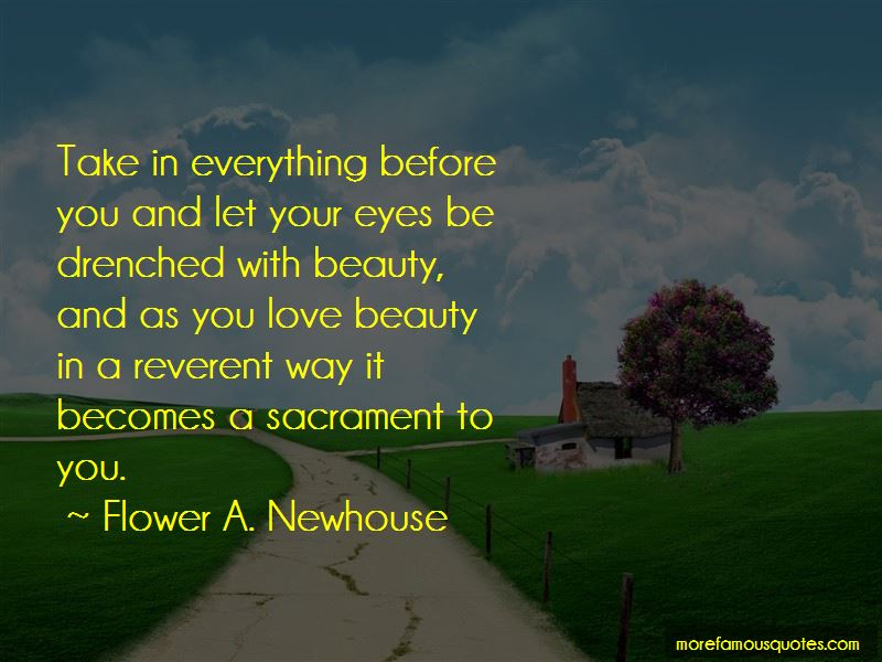 Flower A. Newhouse Quotes Pictures 4