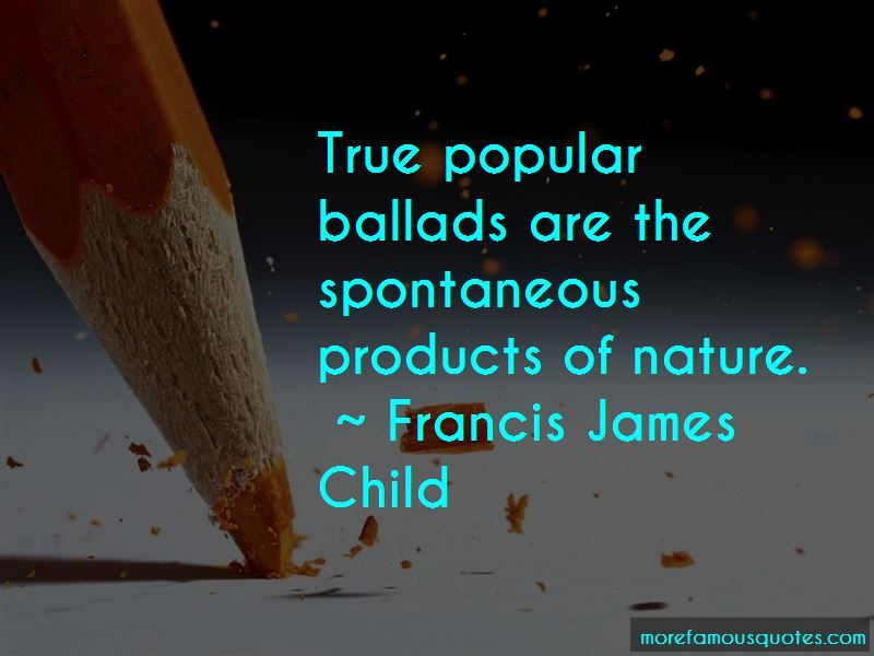 francis james child