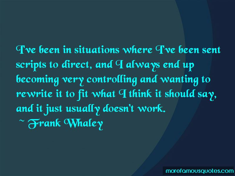 Frank Whaley Quotes