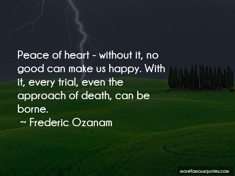 Frederic Ozanam Quotes