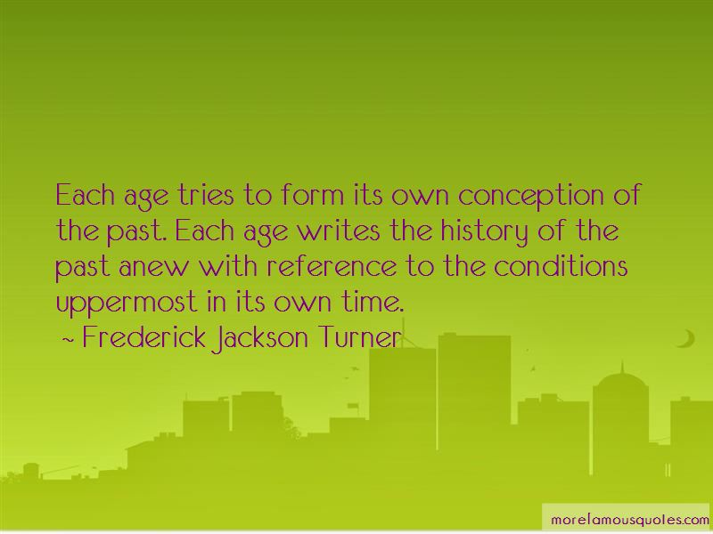 Frederick Jackson Turner Quotes Pictures 4