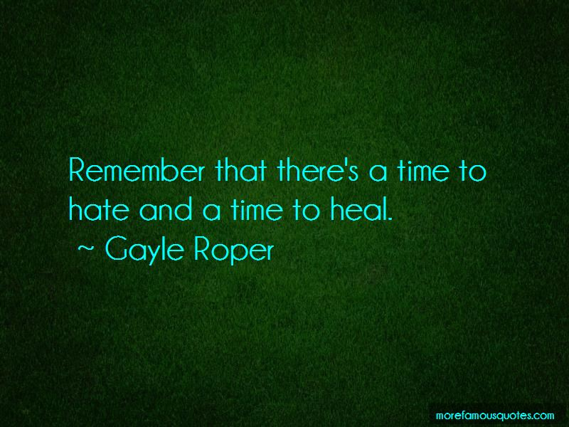 Gayle Roper Quotes