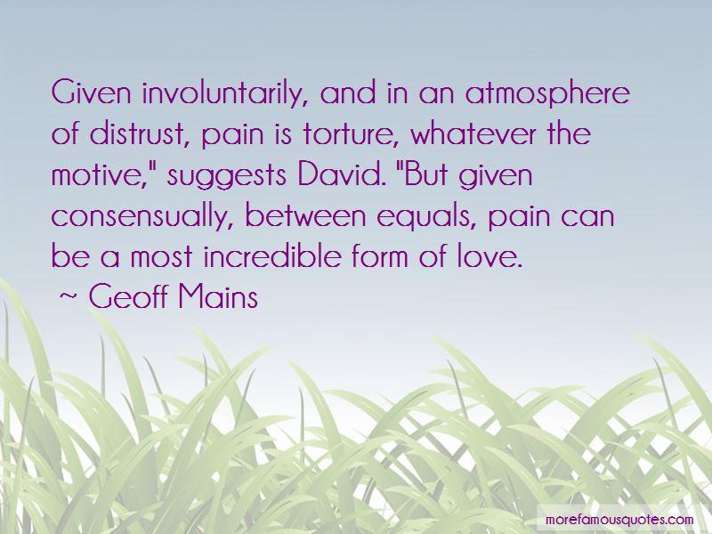 Geoff Mains Quotes