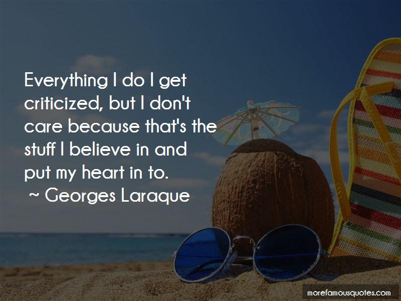 Georges Laraque Quotes Pictures 3