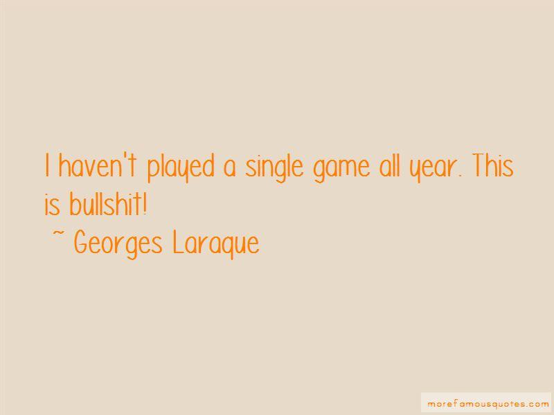 Georges Laraque Quotes
