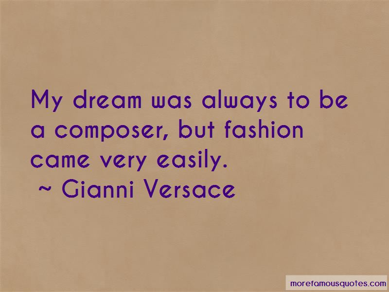 Gianni Versace Quotes Pictures 3