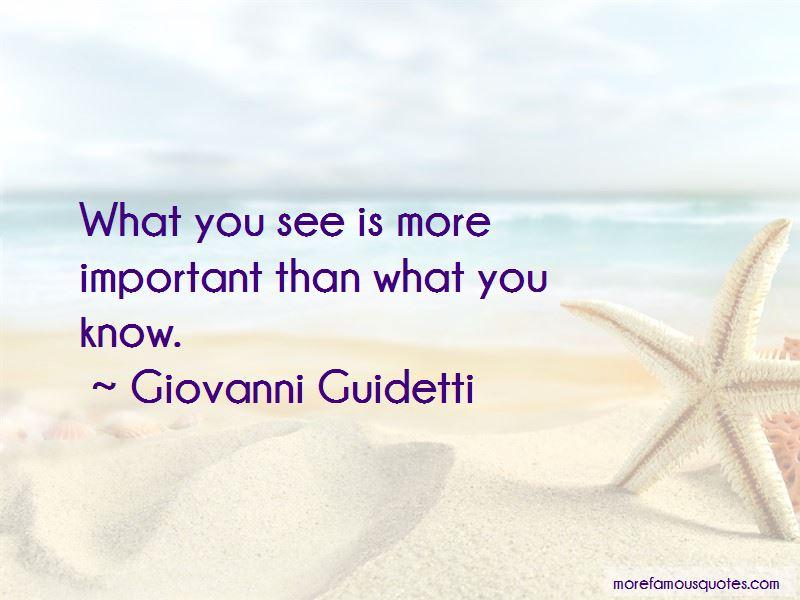 Giovanni Guidetti Quotes Pictures 2