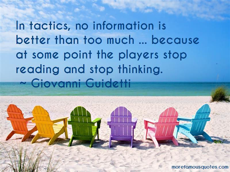 Giovanni Guidetti Quotes