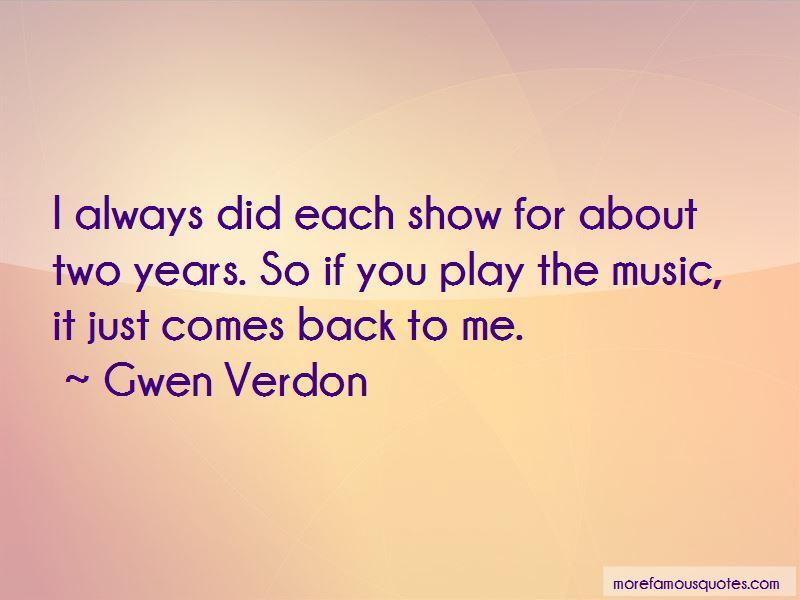 Gwen Verdon Quotes Pictures 2