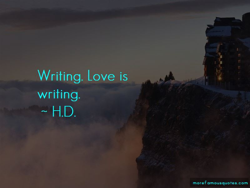 H.D. Quotes Pictures 3